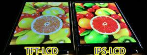 صفحه نمایش IPS LCD